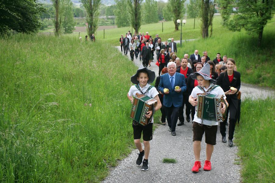 Gebusrtag Herr Robert Rogner und Eröffnung LEBENSWERKSTATT