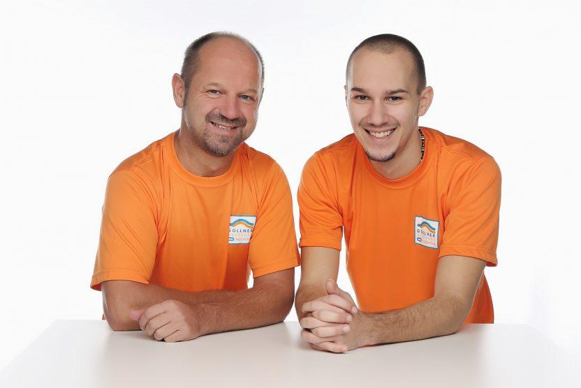 Undopathie Helmut und Jan Gollner