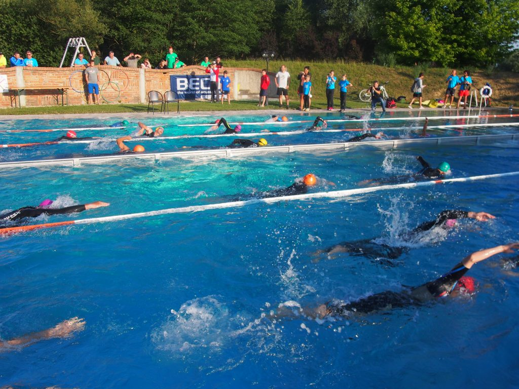 Schwimmbewerb Triple Ultra Triathlon