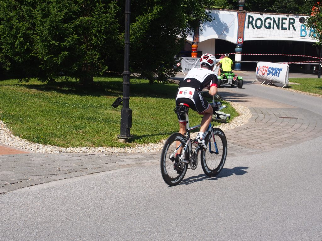 Radbewerb Triple Ultra Triathlon