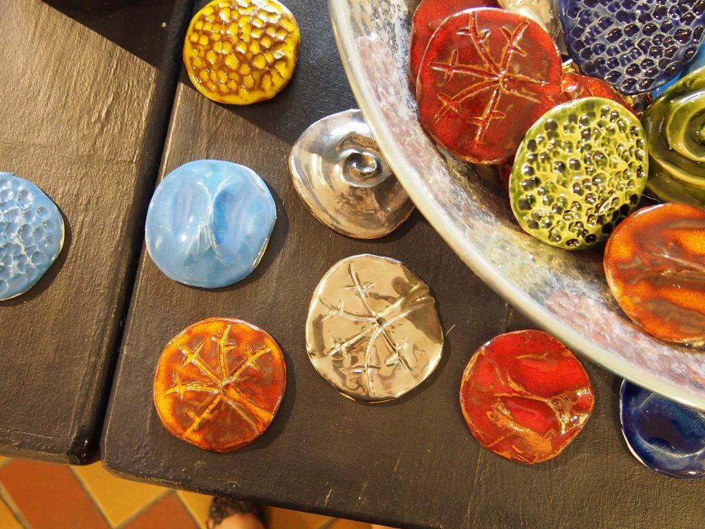 Keramik Früchte ©Rogner Bad Blumau