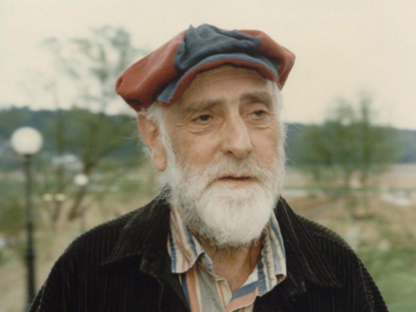 Der Künstler Friedensreich Hundertwasser