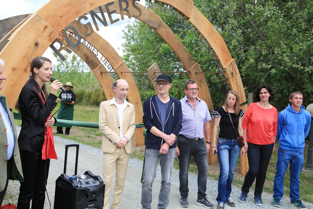 Eröffnung Rogners Arche Noah Raritätengarten Feierlichkeiten zu 20 Jahre Rogner Bad Blumau © Hundertwasser Architekturprojekt, Rogner Bad Blumau/APA-Fotoservice/Hautzinger Fotograf: Peter Hautzinger
