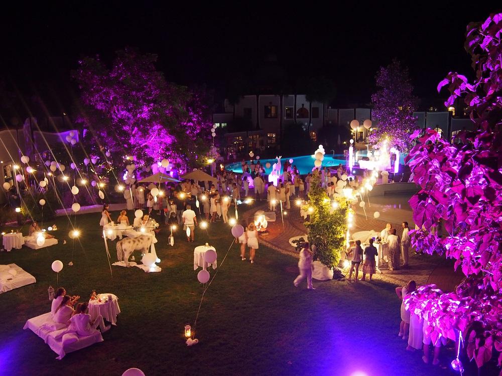 Einfach weiß - eine weiße nacht im Rogner Bad Blumau
