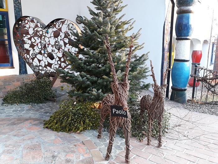 Paolo Rogners Weihnachtswunder entdeckungsreise.blumau.com Rogner Bad Blumau