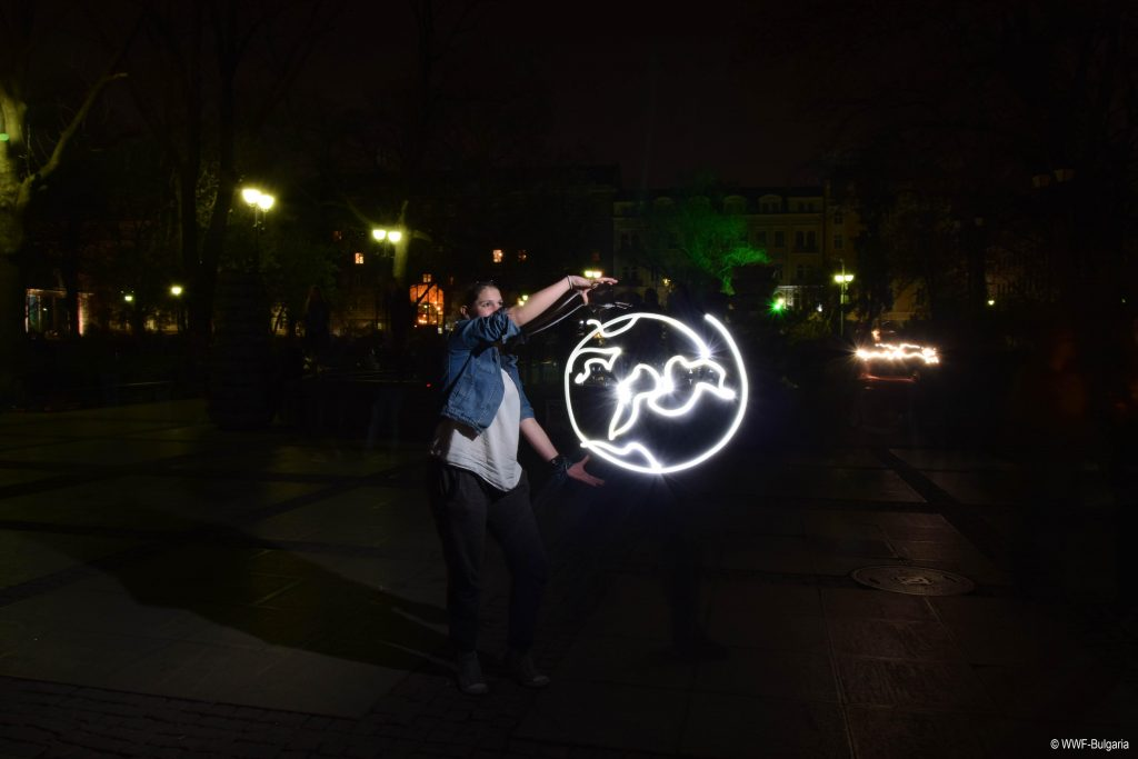 Earth Hour 2017 celebrations in Bulgaria