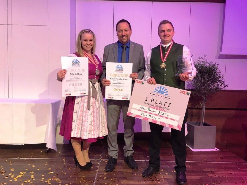 Staatsmeisterschaft der Lehrlinge in Tourismusberufen 2018 - Gala