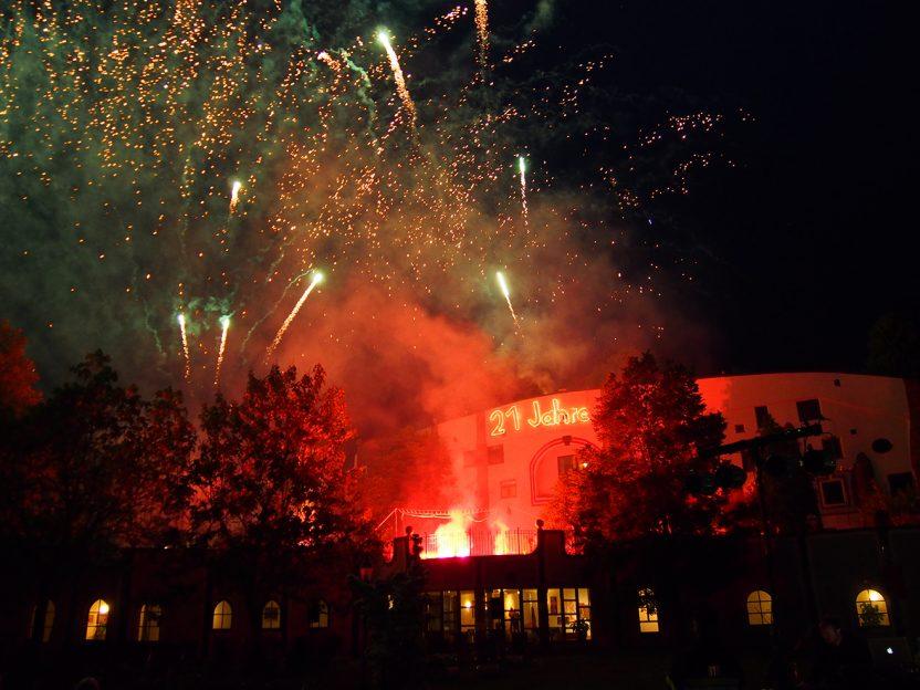 Feuerwerk © Rogner Bad Blumau