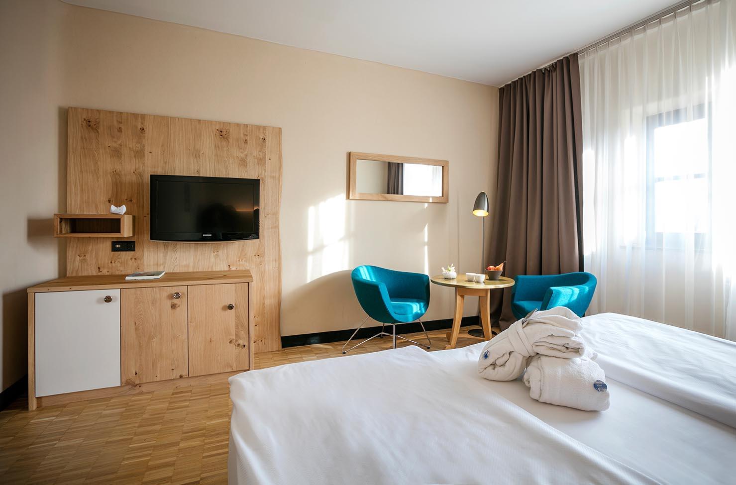 Neue Zimmer ©Rogner Bad Blumau