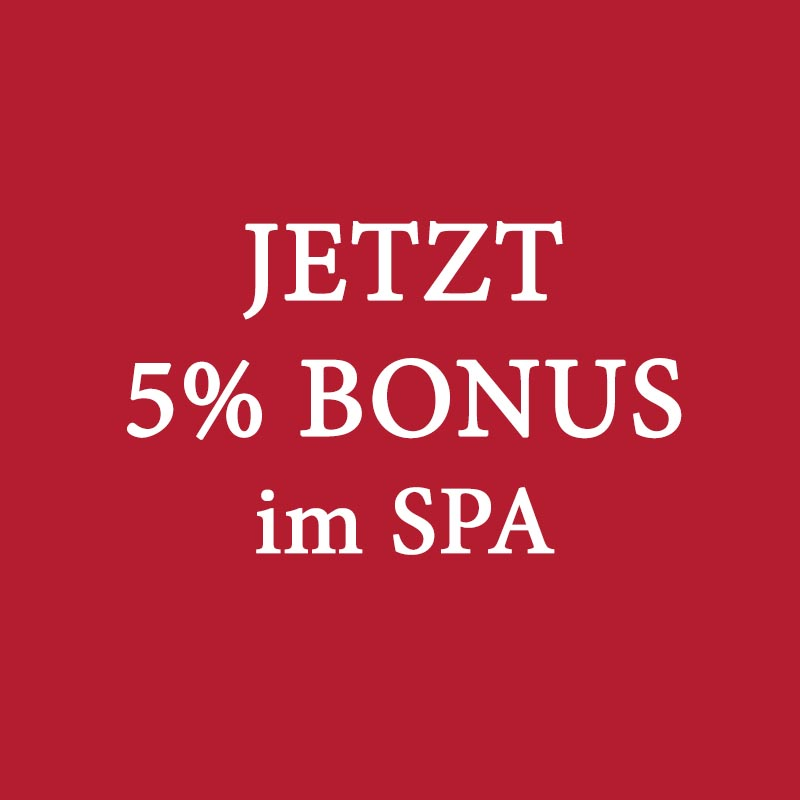 5 Prozent © Rogner Bad Blumau