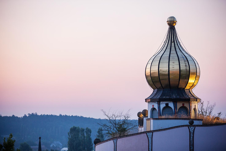 Hundertwasser © Rogner Bad Blumau