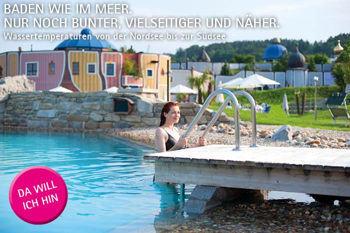 Sommer in Himmelblau Rogner Bad Blumau