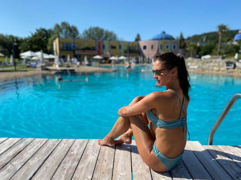Urlaub fast wie am Meer im Rogner Bad Blumau