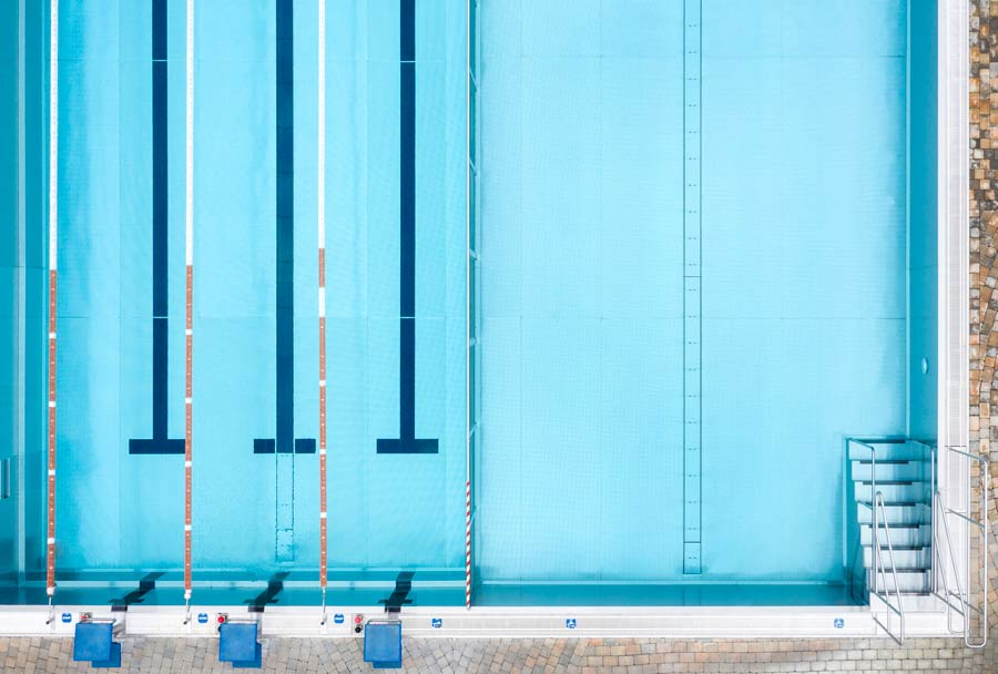 Sportbecken © Rogner Bad Blumau